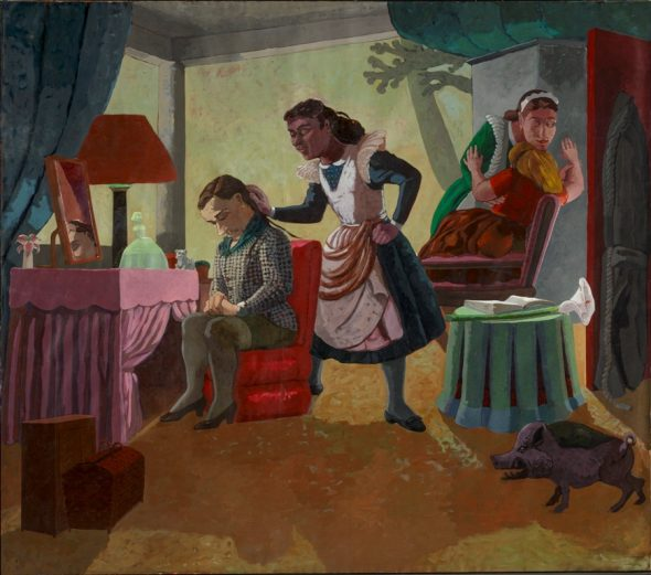 Paula Rego - The Maids, 1987 © Copyright Paula Rego Courtesy Marlborough Fine Art