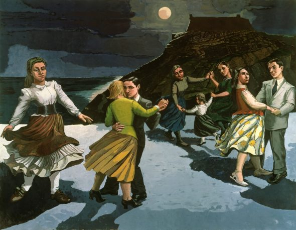 Paula Rego-The dance, 1988 Crédit photo Private Collection-Bridgeman Images