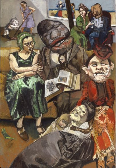 Paula Rego - The fisherman triptych (left panel) 2005 © Copyright Paula Rego Courtesy Marlborough Fine Art