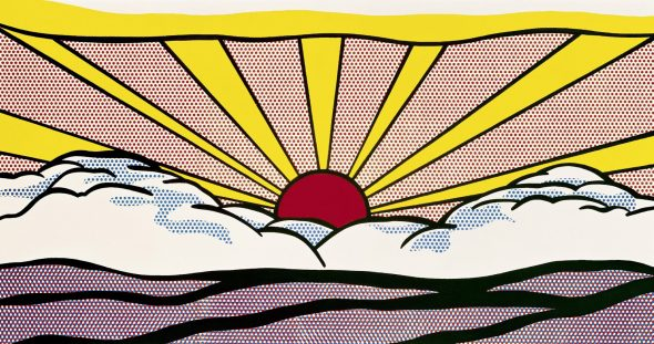Print © Roy Lichtenstein, Sunrise, 1965