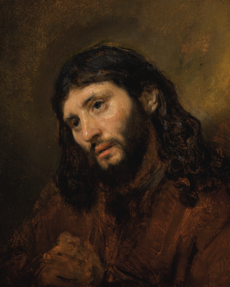 Rembrandt Harmensz. van Rijn STUDY OF THE HEAD AND CLASPED HANDS OF A YOUNG MAN AS CHRIST IN PRAYER Estimate 6,000,000 — 8,000,000 Photo: Sotheby's