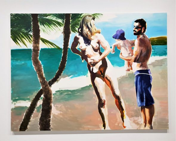 ERIC FISCHL, UNWINDING, 2018 - SPRUTH MAGERS