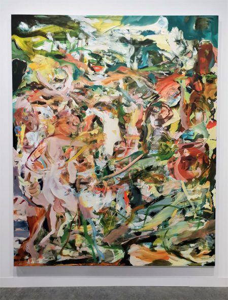 CECILY BROWN, SPARTANS AND SIRENS IN PARADISE, 2018 - PAULA COOPER