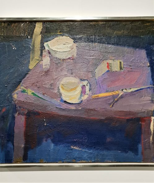 RICHARD DIEBENKORN, STILL LIFE WITH MATCHBOOK, 1956 - WAN DOREN WAXTER