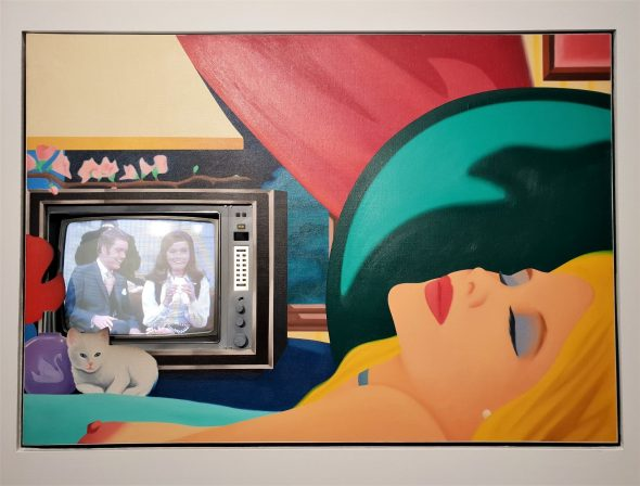 TOM WESSELMANN, BEDROOM BLOND WITH TV, 1984-93 - ALMINE RECH