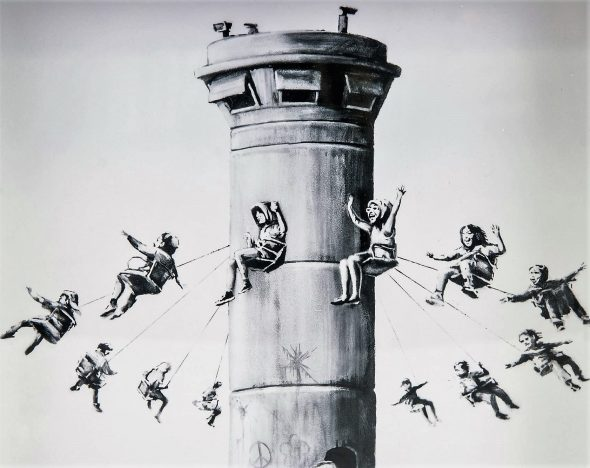 Banksy The Walled Off Hotel Box