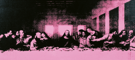 ndy Warhol, The last supper; collezione Creval