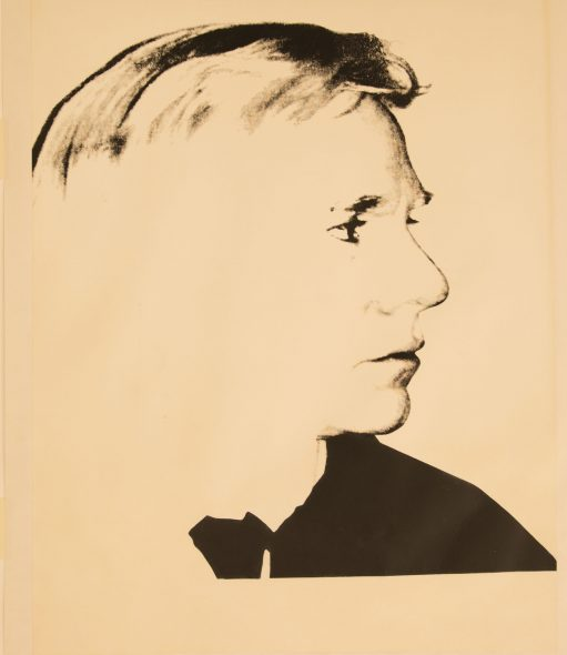 Andy Warhol, Self-Portrait, Screenprint on Curtis Rag Paper, 114.3x88.9cm