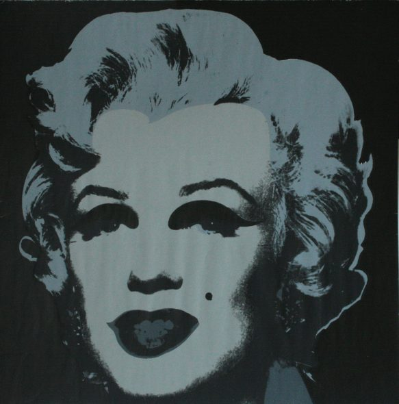 Andy Warhol, Ladies and Gentlemen, 1975, acrilico su tela, 35.2x28cm