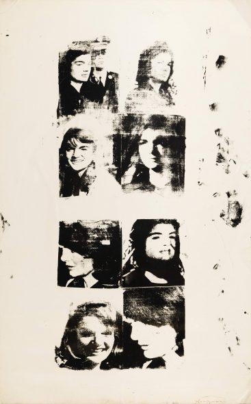 Andy Warhol - Studies of Jackie - 1964 -EST. € 1.000.000 - 1.500.000