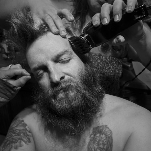 ©LarryFink_Denny's Haircut, 2015, Pennsylvania