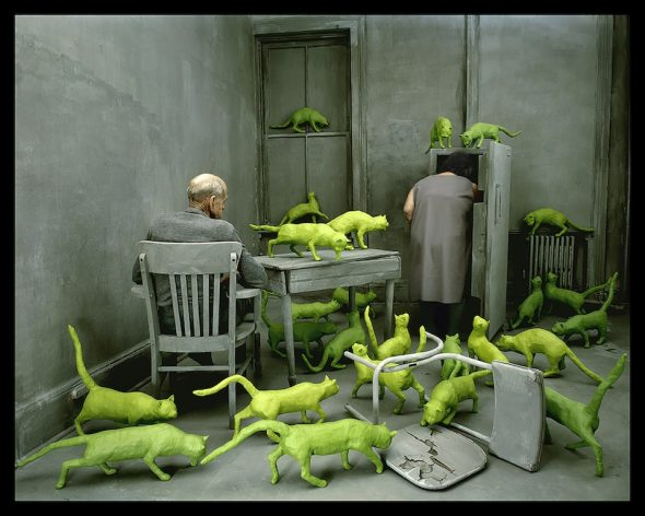 Sandy Skoglund, Radioactive cats
