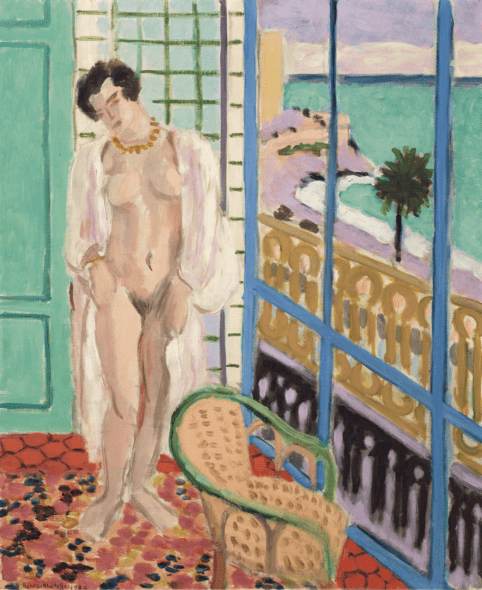 Henri Matisse (1869-1954), Nu à la fenêtre, 1929. Oil on canvas. 25¾ x 21½ in (65.3 x 54.5 cm). Estimate: $7,000,000-10,000,000. Offered in the Impressionist and Modern Art Evening Sale on 13 May at Christie's in New York
