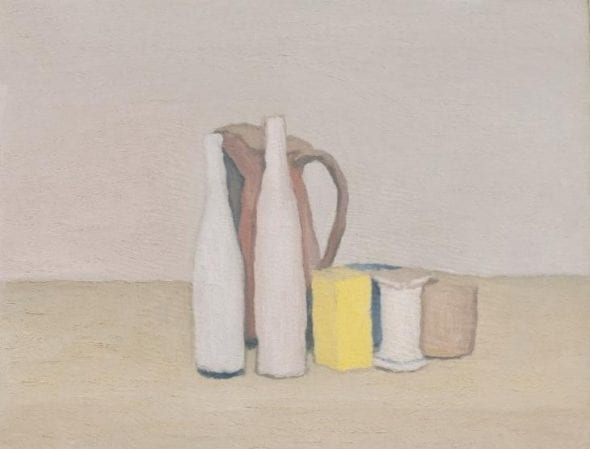 GIORGIO MORANDI (1890-1964) Natura morta Oil on canvas, 40x52cm Executed in 1952 Estimate: €700,000–1,000,000