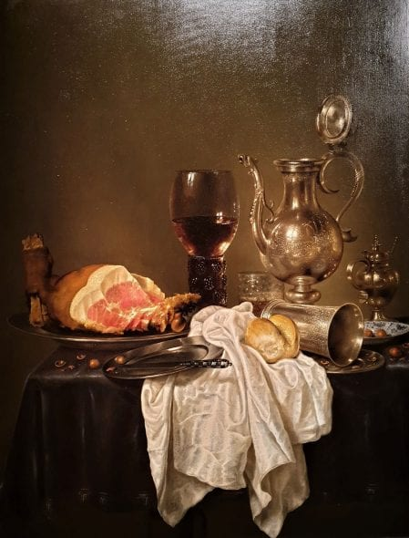 Willem Claesz, Natura Morta, 1654, da Sanct Lucas