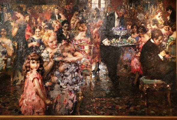 Vincenzo Irolli, The Reception, 1920, da Jack Kilgore