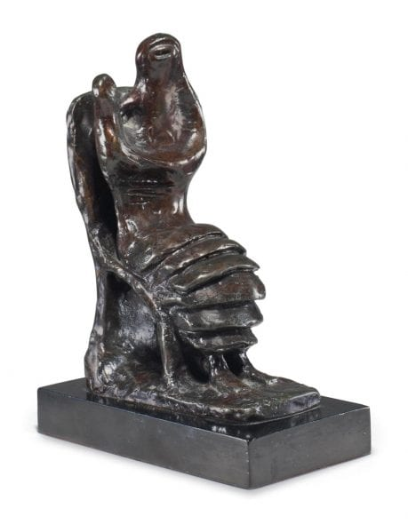 Henry Moore, Mother and Child: PetalSkirt