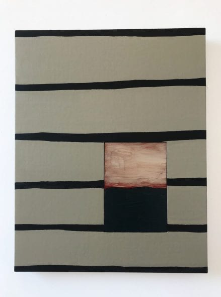 LONG LIGHT Sean Scully Villa Panza 2019, Passenger Line Pink Blue, 2004