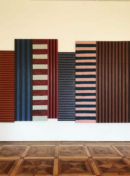 LONG LIGHT Sean Scully Villa Panza 2019, Backs and Fronts, 1981