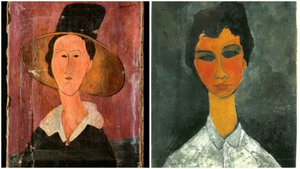 Donna col capello e Hannelore, i due Modigliani sequestrati come falsi