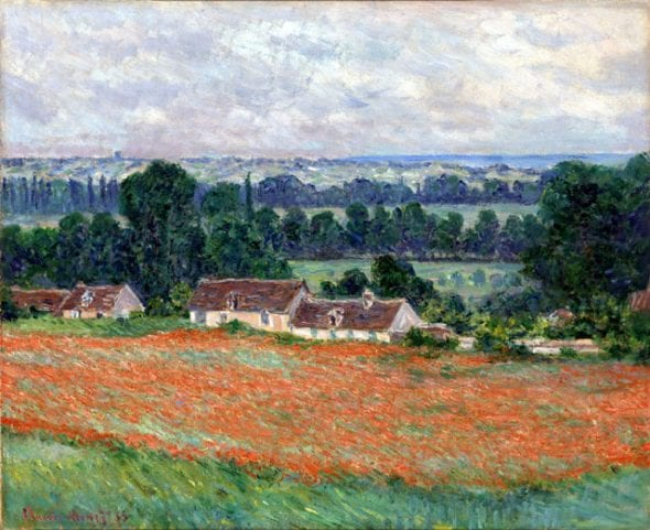 Claude Monet (1840–1926). Campo di papaveri, Giverny (Field of Poppies, Giverny), 1885. Olio su tela, 60x73 cm. Virginia Museum of Fine Arts, Collection of Mr. and Mrs. Paul Mellon, 85.499. Image © Virginia Museum of Fine Arts