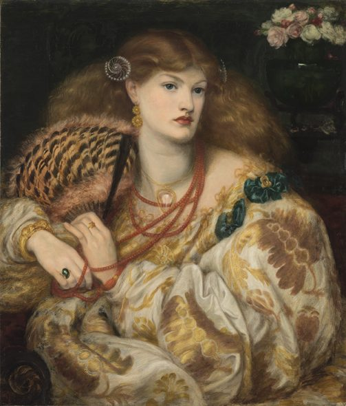 Dante Gabriel Rossetti (1828-1882) Monna Vanna, 1866 Olio su tela, cm 88,9 x 86,4 Tate: Purchased with assistance from Sir Arthur Du Cros Bt and Sir Otto Beit KCMG through the Art Fund 1916 ©Tate, London 2019