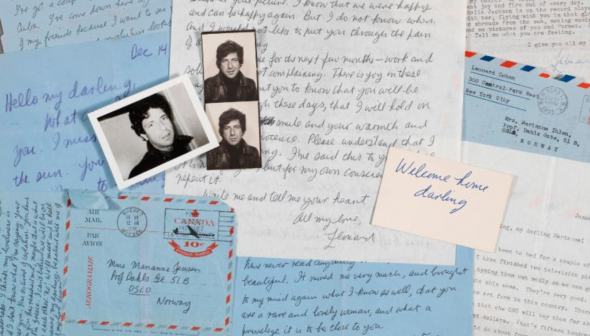 Write Me and Tell Me Your Heart: Leonard Cohen's Love Letters to Marianne. Christie's New York