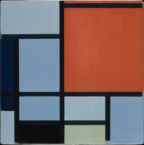 Piet Modrian, Composition, 1921