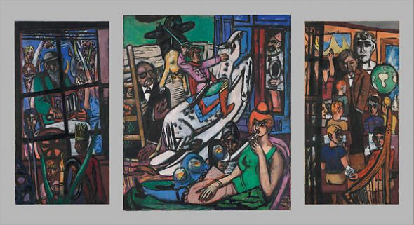 Max Beckmann, The Beginning, 1946–49
