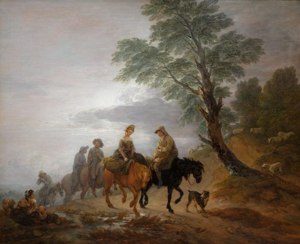 Thomas Gainsborough_Going to Market