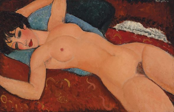 Amedeo Modigliani, Nu couché