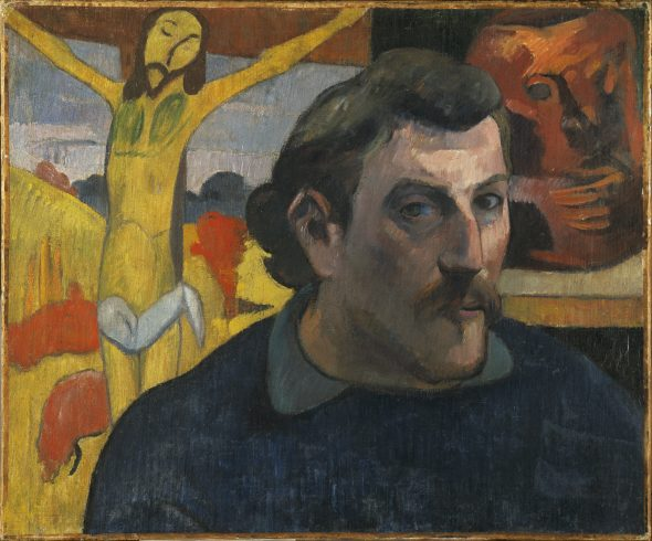 Paul Gauguin Self Portrait as Christ, 1890-1891 Oil on canvas 38.1 x 45.7 cm Musée d'Orsay, Paris Acquired by the Musées nationaux with the participation of Philippe Meyer and a Japanese patron, coordinated by the newspaper Nikkei, 1994 (RF 1994-2) (RF 1994 2) © RMN-Grand Palais (musée d'Orsay) / René-Gabriel Ojéda
