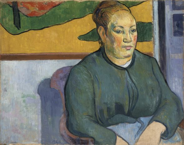 Paul Gauguin Portrait of Madame Roulin, 1888 Oil on canvas 49 × 65.5 cm Saint Louis Art Museum Funds given by Mrs. Mark C. Steinberg 5:1959 Image courtesy Saint Louis Art Museum