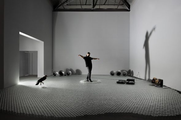 Greek Pavilion at Venice Biennale 2019. Panos Charalambous, An Eagle Was Standing, 2019, Photo by Ugo Carmeni