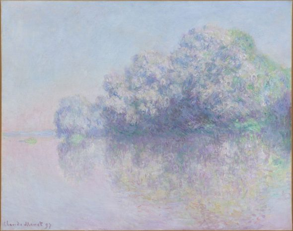 Claude Monet L'ile aux Orties , 1897 Olio su tela, 73,4x92,5 cm Photo Peter Schälchli, Züric