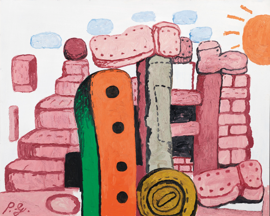 Philip Guston, Language I, 1973, estimate: £1,500,000-2,000,000