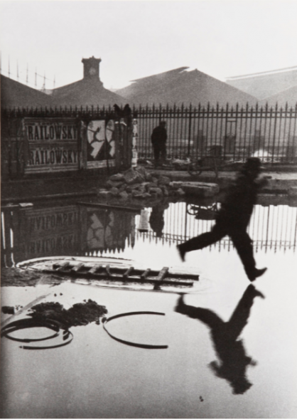 Henri Cartier-Bresson Behind the Gare St. Lazare 1932 Not on view