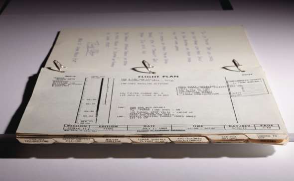 THE TIMELINE BOOK – Apollo 11 LM Timeline Book. [Houston:] Manned Spacecraft Center, Flight Planning Branch, 19 June-12 July 1969. Estimate USD 7,000,000 - USD 9,000,000