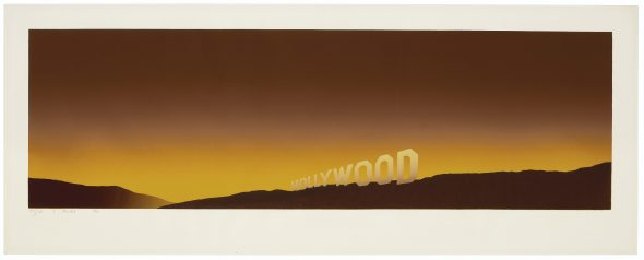 Ed Ruscha Hollywood Estimate USD 80,000 - USD 120,000