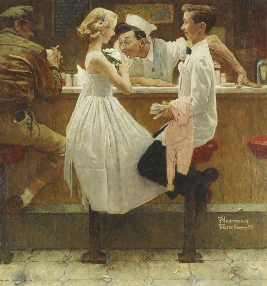 Norman Rockwell 1894 - 1978 AFTER THE PROM