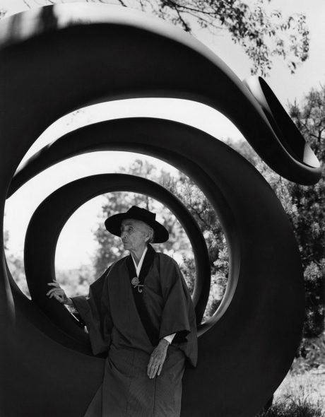 Georgia O'Keeffe, Abiquiu, N.M.,1984 Photography by Bruce Weber, Courtesy of the Bruce Weber and Nan Bush Collection, New York, © Bruce Weber