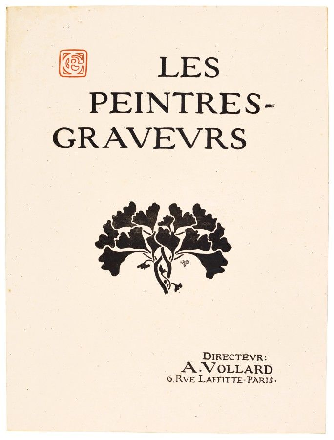 PORTFOLIO, LES PEINTRES-GRAVEURS (CF. JOHNSON PP. 127-155). THE VERY RARE, COMPLETE PORTFOLIO OF THE FIRST ALBUM, COMPRISING 22 PRINTS, 1896