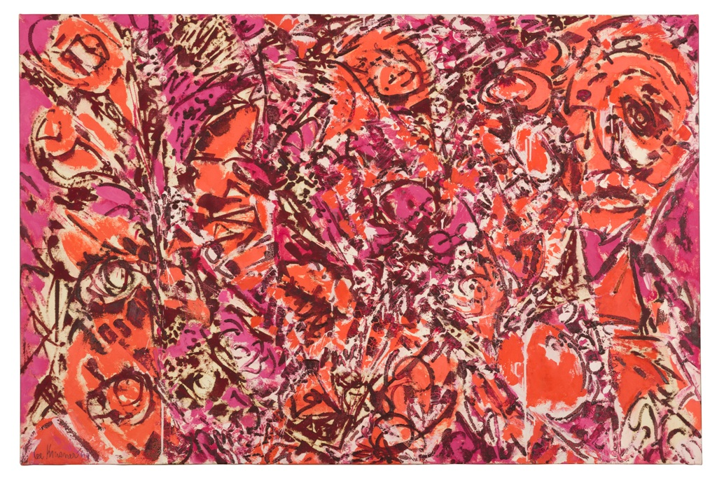 Lee Krasner, Icarus, 1964, Thomson Family Collection ® The Pollock-Krasner Foundation. Courtesy Kasmin Gallery, Photo by Diego Flores