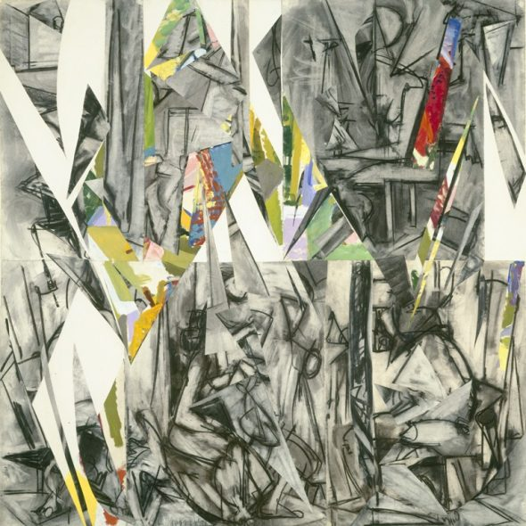 Lee Krasner, Imperative, 1976 ® The Pollock-Krasner Foundation. Courtesy National Gallery of Art, Washington D.C.