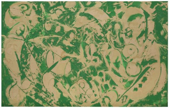 Lee Krasner, Siren, 1966, Hirshhorn Museum and Sculpture Garden, Smithsonian Institution -® The Pollock-Krasner Foundation. Photo by Cathy Carver