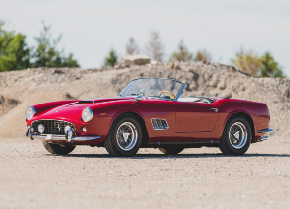 1962 Ferrari 250 California SWB Spider by Scaglietti $10,500,000 - $13,000,000 RM | Sotheby's - MONTEREY 15 - 17 AUGUST 2019 - Offered on Saturday