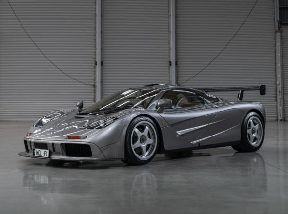 1994 McLaren F1 'LM-Specification' $21,000,000 - $23,000,000 RM | Sotheby's - MONTEREY 15 - 17 AUGUST 2019 - Offered on Friday
