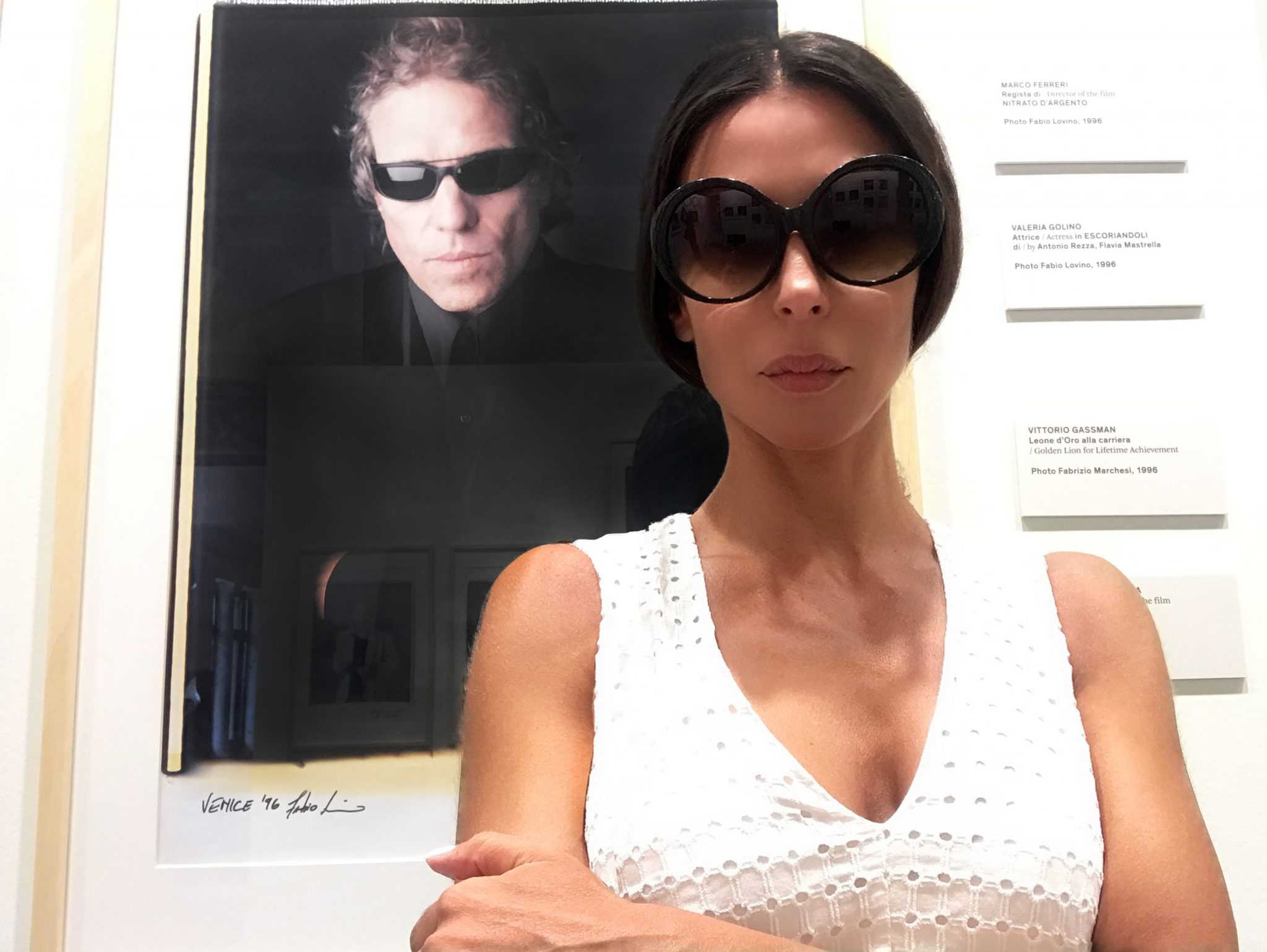 "#SELFIEADARTE ""The last day of your life is still going to be a day."" #AbelFerrara (1996) #RitrattiOpereUniche @BiennaleCinema #LidoDiVenezia @CleliaPatella"