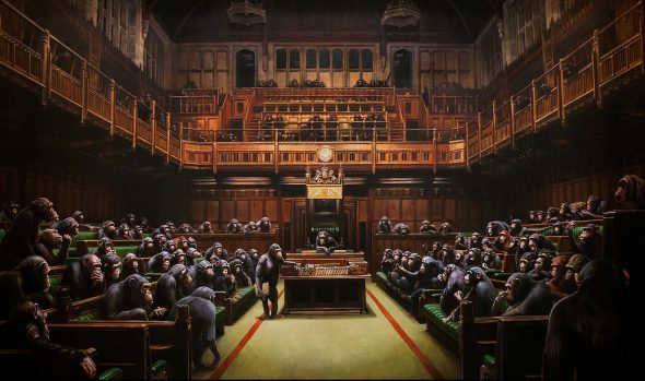 Bansky, Devolved Parliament, 2009