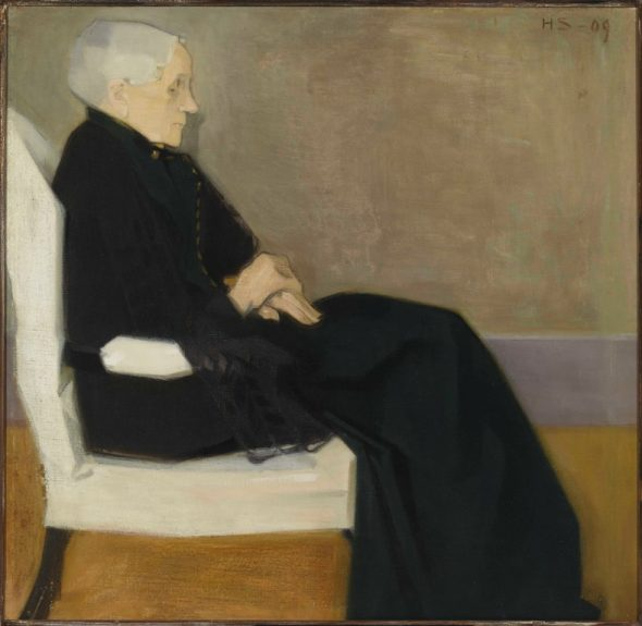 Helene Schjerfbeck, My Mother, 1909. Private collection. Photo Finnish National Gallery-Yehia Eweis